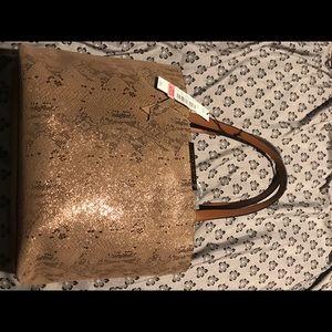 Antonio Melani Hand Bag/ Purse Snakeskin Brand New